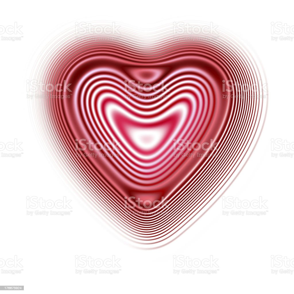 Heart Icon isolate on white background royalty-free stock photo