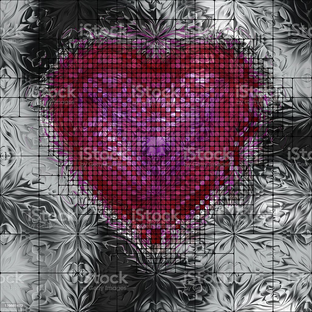 Icono del corazón foto de stock libre de derechos