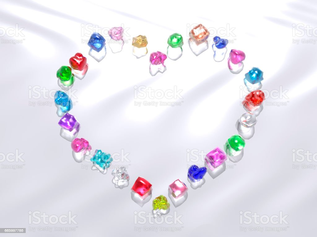Heart image stock photo