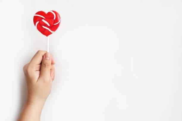 heart lollipop – zdjęcie