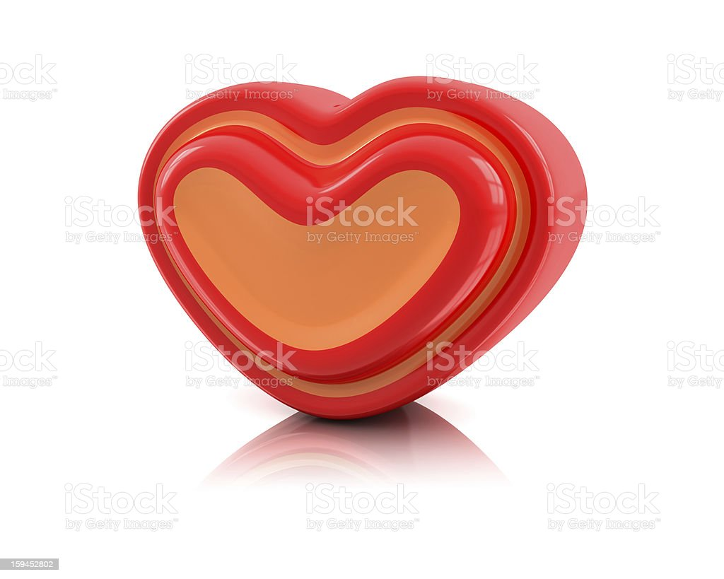 Heart Love royalty-free stock photo