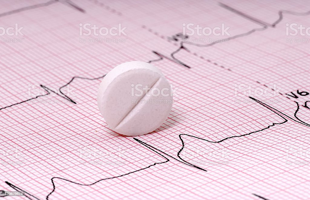 Heart Medication royalty-free stock photo