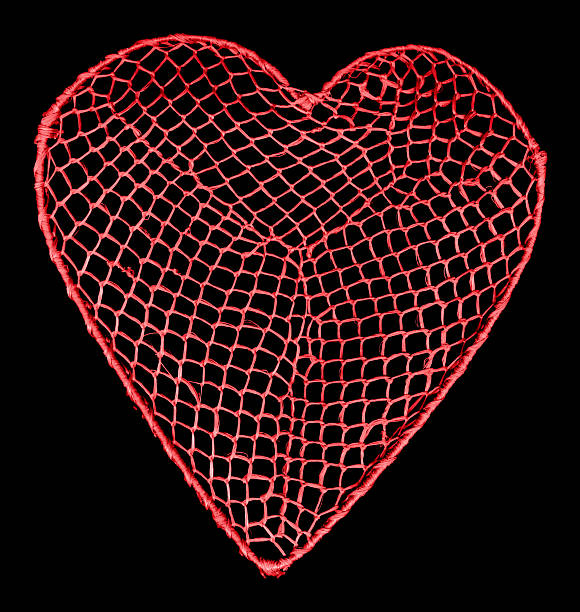 Heart net  ensnare stock pictures, royalty-free photos & images