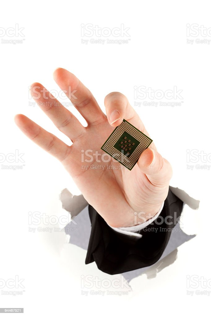 heart of computer royalty-free stock photo