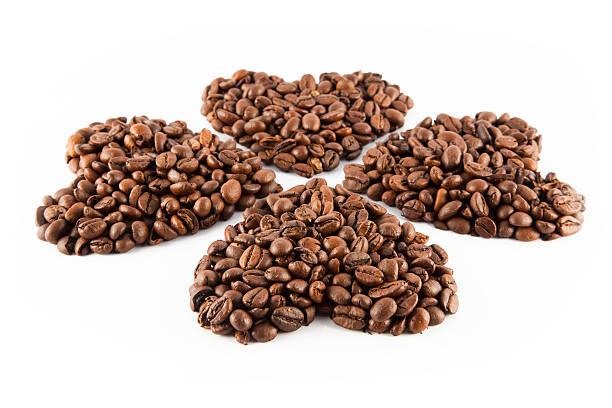Herzen der Kaffee – Foto