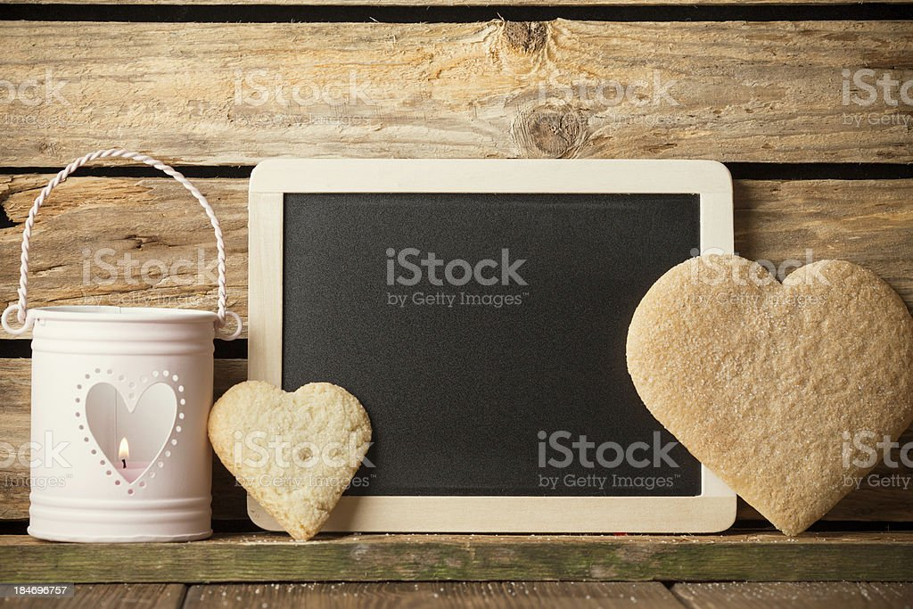 Heart of the cookies. royalty-free stock photo