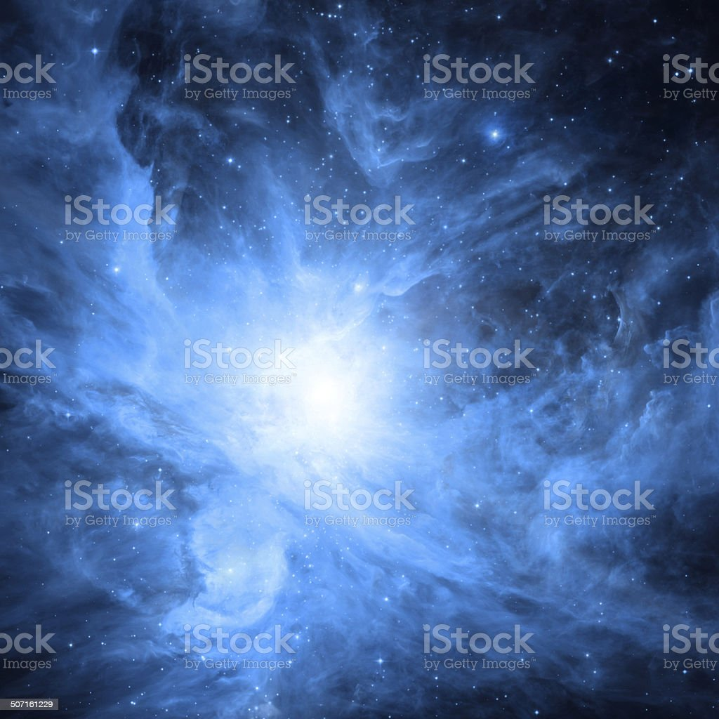 Heart of the Orion royalty-free stock photo