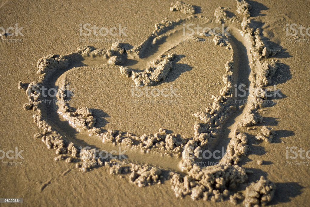 Cuore foto stock royalty-free