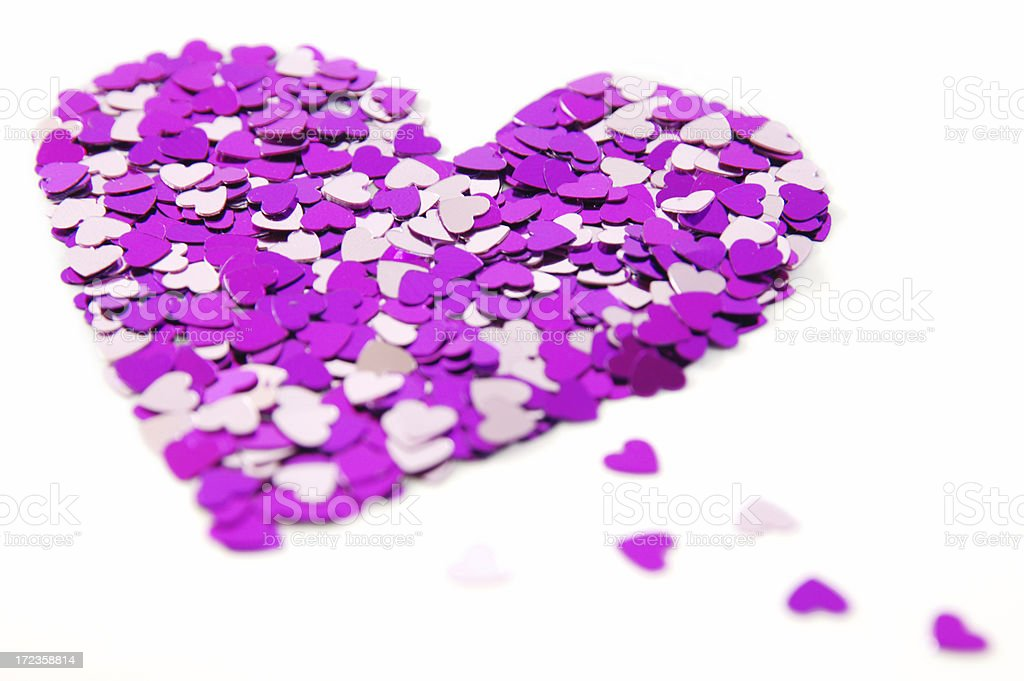 Heart pieces royalty-free stock photo