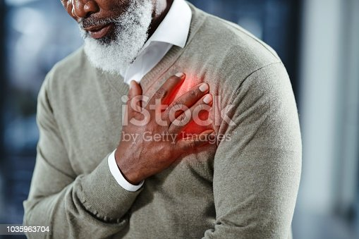 istock Heart problems can affect anyone at any time 1035963704