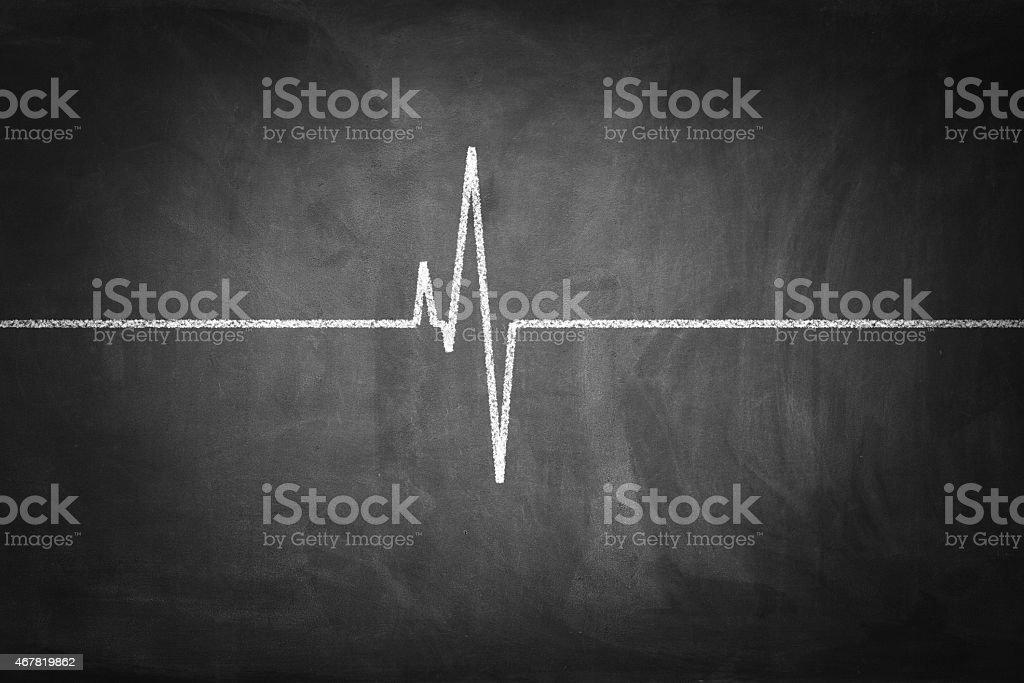 Heart Pulse stock photo