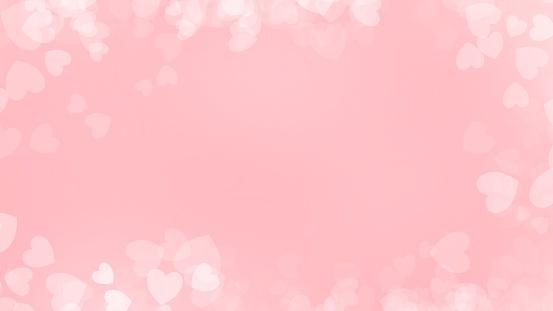 896306118 istock photo Heart red background illustration , Valentine's Day 1097310100