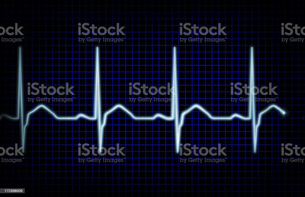 Heart rythm XXL royalty-free stock photo