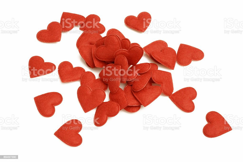 Serie cuore foto stock royalty-free
