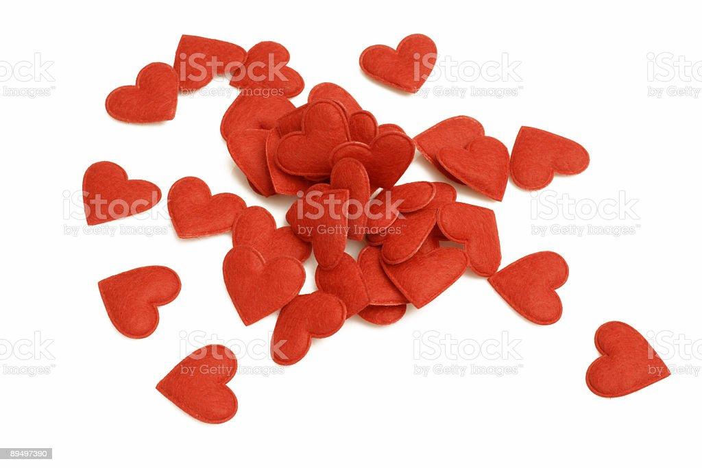 Heart Series royaltyfri bildbanksbilder