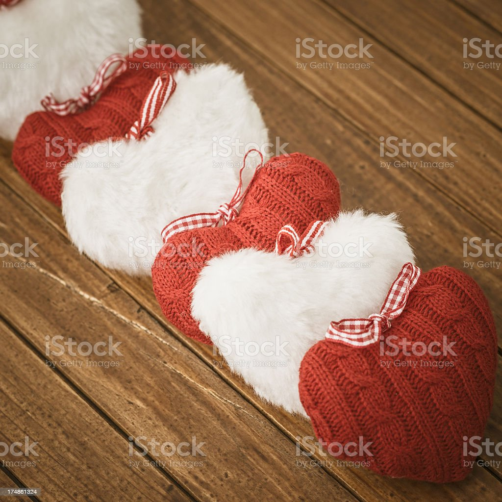 Heart shape background decoration for St. valentine royalty-free stock photo