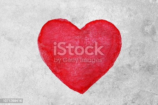 istock Heart shape background 1071269416