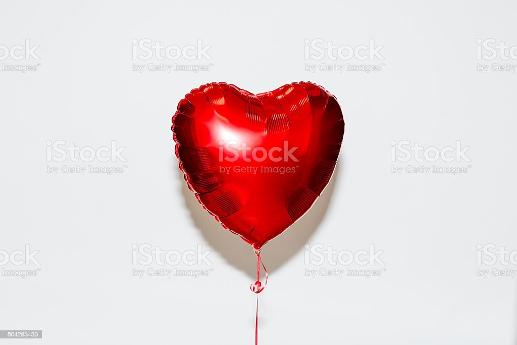 Heart Shape Balloon bildbanksfoto