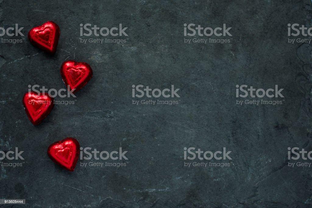 Herzform Candy Hintergrund – Foto