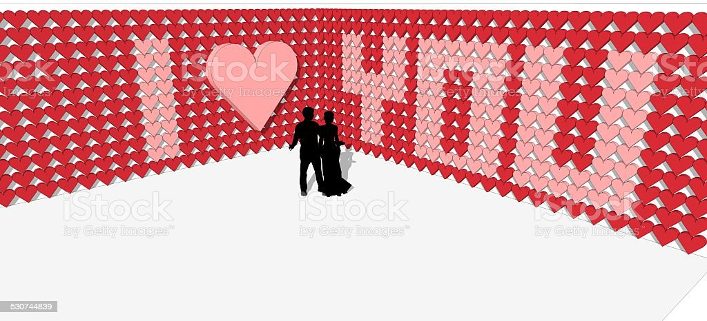 Heart Shape for Valentine's Day stock photo