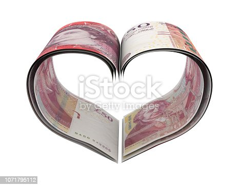 Heart Shape Made Pound