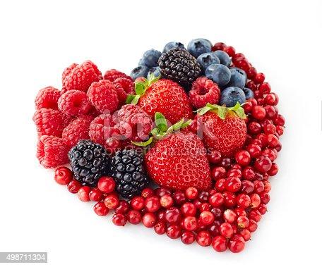 istock heart shape of fresh berries 498711304