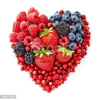 istock heart shape of fresh berries 498711332
