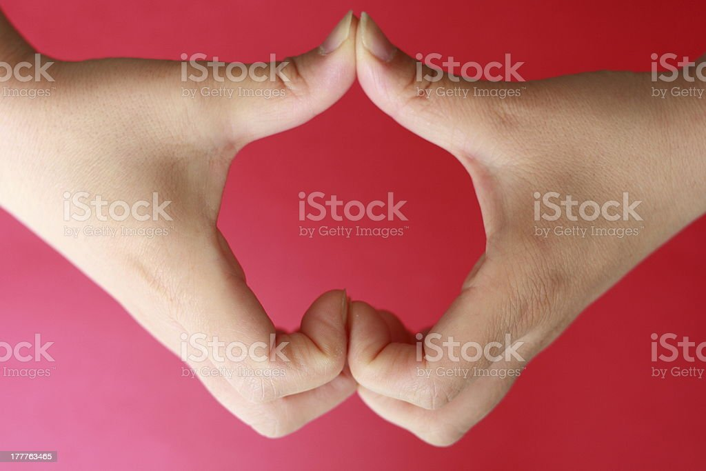heart shape royalty-free stock photo