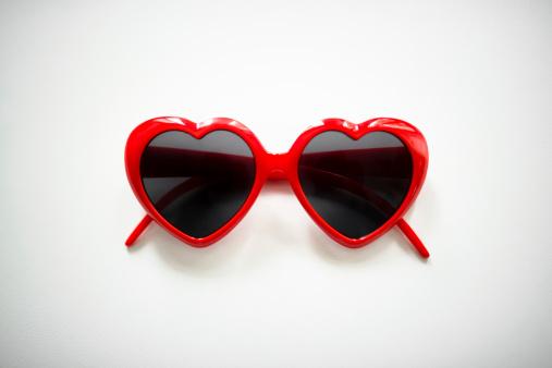 heart shape sunglasses for st. valentine