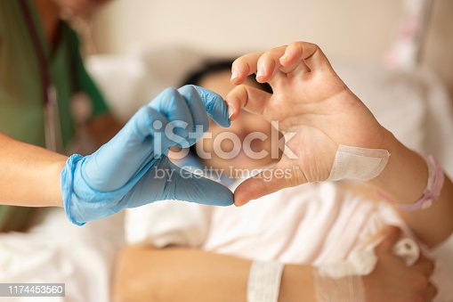 Heart Shape with doctor
