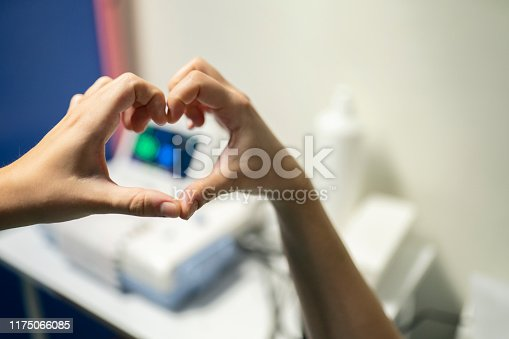 1035479448 istock photo Heart Shape with doctor 1175066085