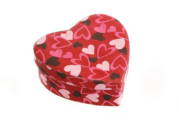 Herzförmigen Geschenkbox – Foto