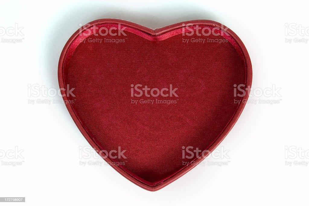 Heart Shaped Box royalty-free stock photo