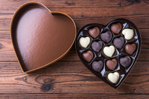Heart Chocolate Box