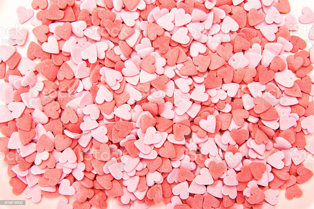 heart shaped candy decorations background stock photo more