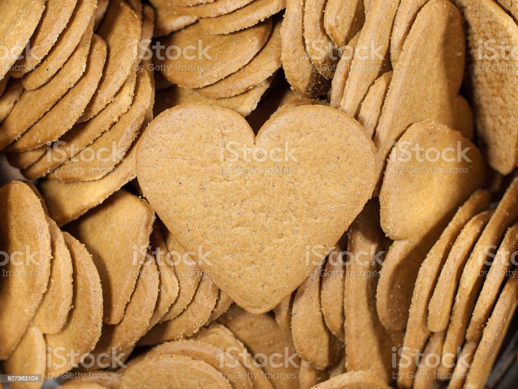 heart shaped cookies - Royalty-free Biscuit Stock Photo