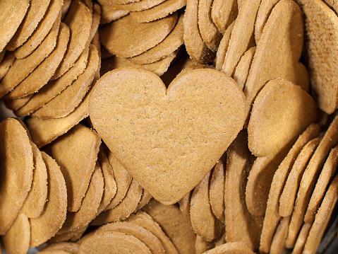 Heart Shaped Cookies Stock Photo - Download Image Now