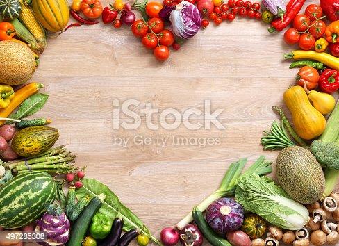 istock Heart shaped food 497285308