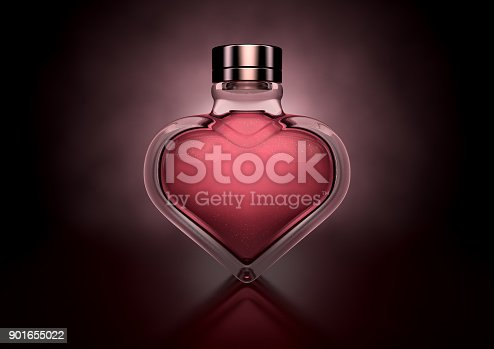 istock Heart Shaped Perfume 901655022