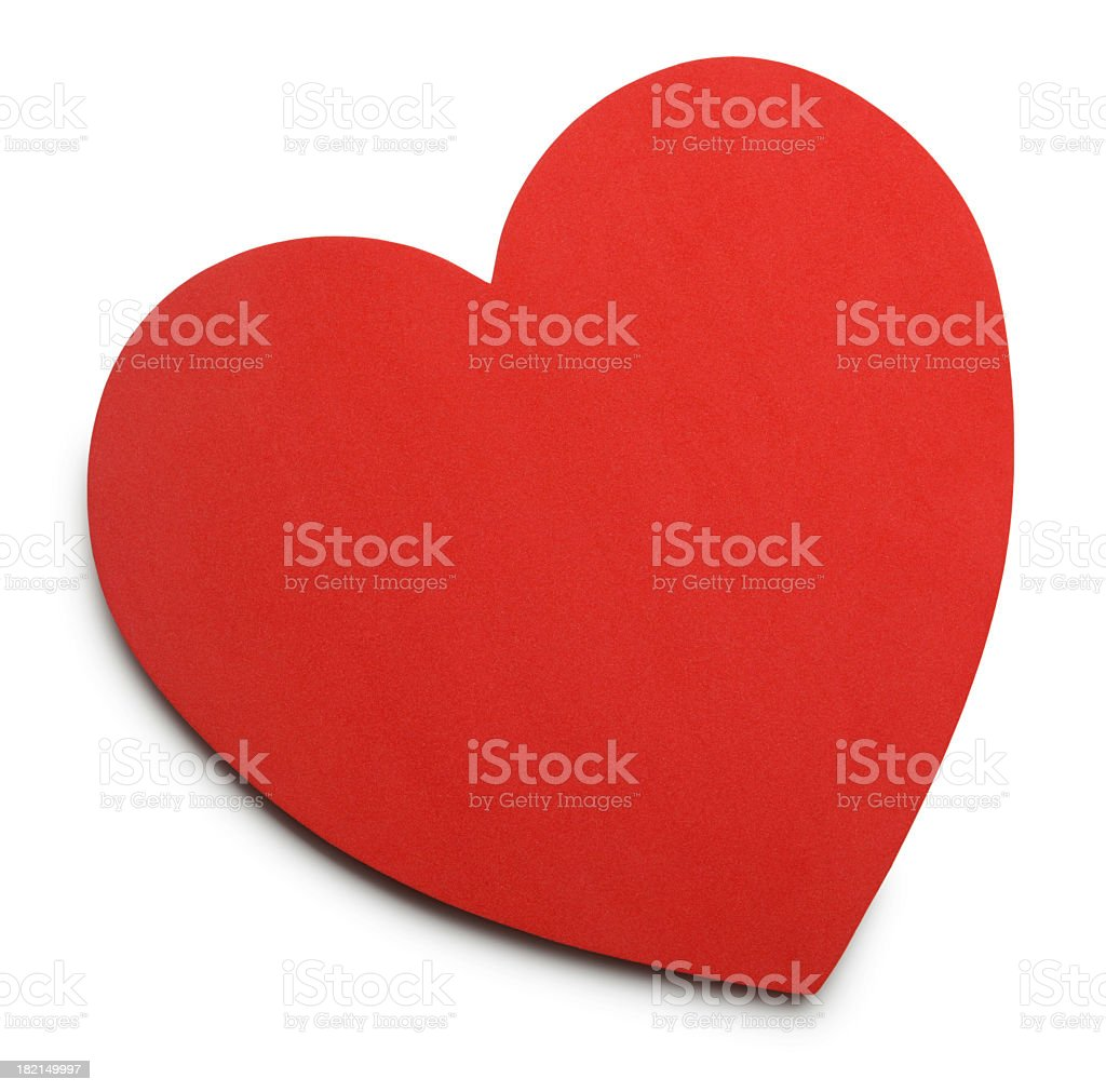 Heart Shaped royalty-free stock photo