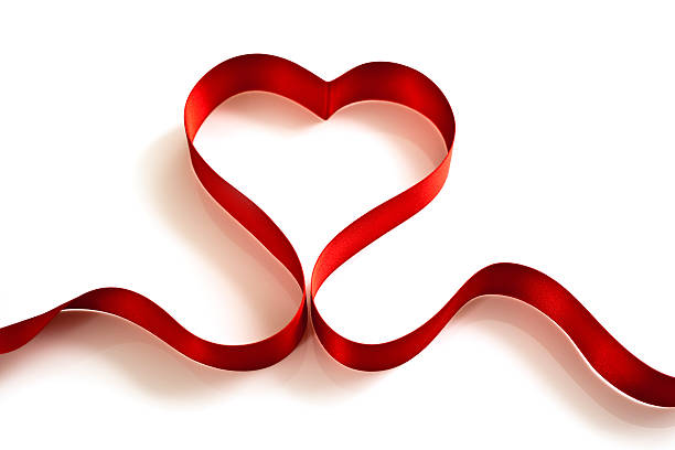 This image has an empty alt attribute; its file name is heart-shaped-ribbon-picture-id157648751