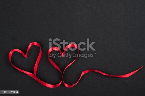 istock Heart Shaped Ribbon 901682004