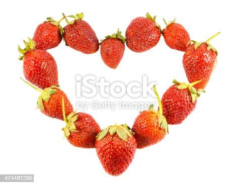 istock heart shaped strawberries 474481295