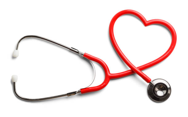heart stethoscope - stethoscope stock pictures, royalty-free photos & images