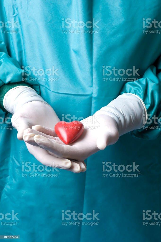 heart surgery royalty-free stock photo