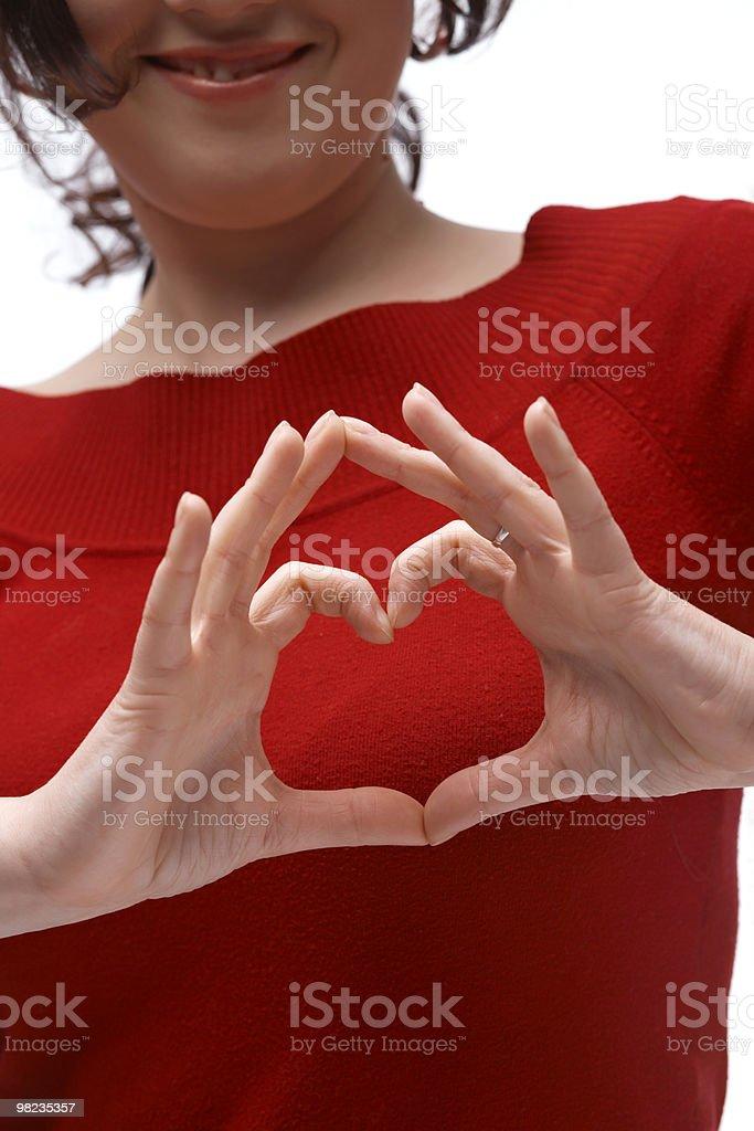 Heart Symbol royalty-free stock photo