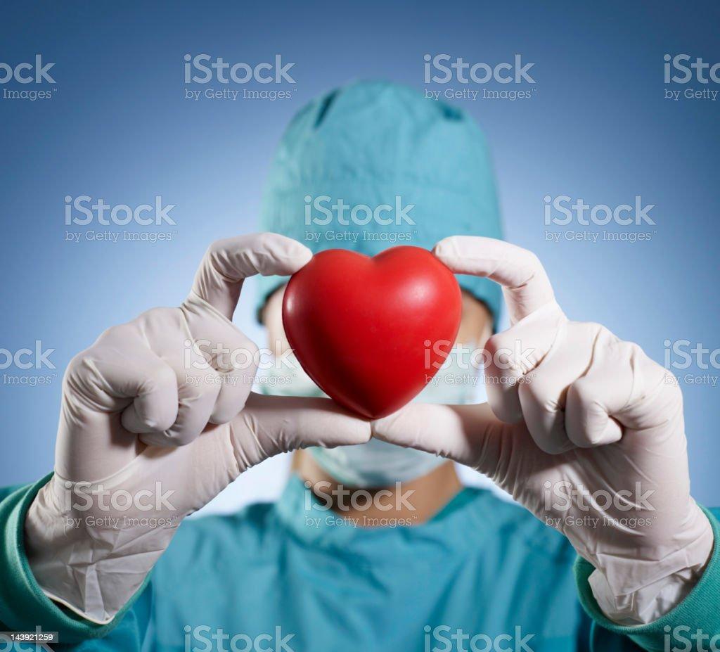 Heart Transplant stock photo