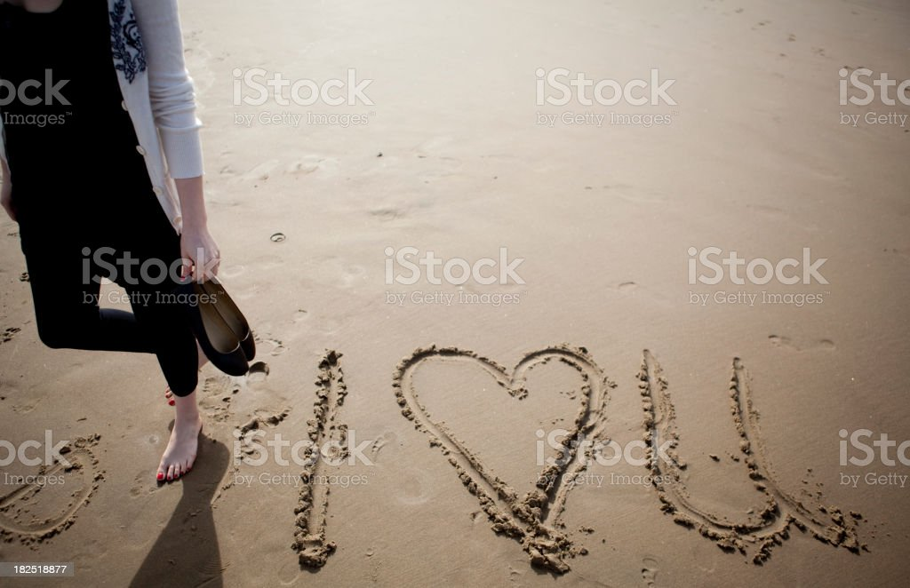 I Heart You royalty-free stock photo
