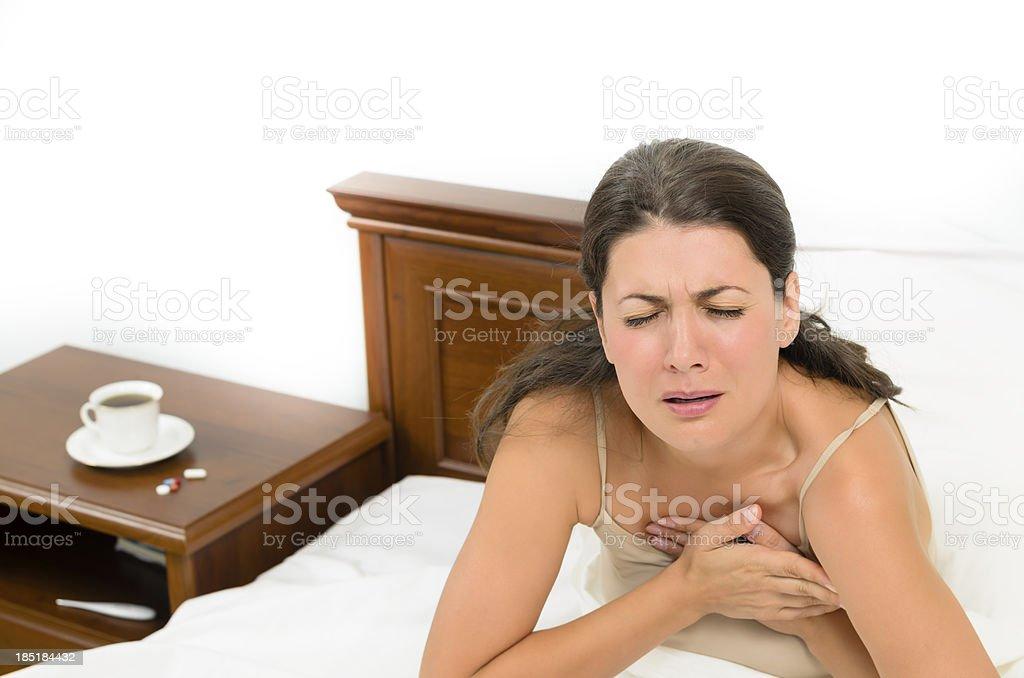 Heartache royalty-free stock photo