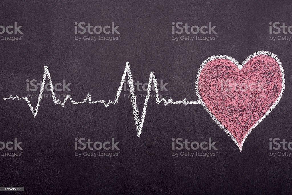 Heartbeat stock photo